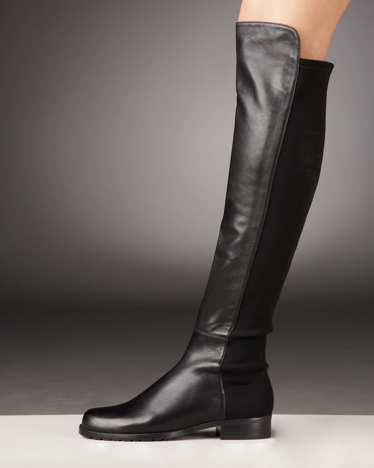 An Amazon brand - Bright metallic studs punctuate the suede upper of this knee-high boot with self-block heel. The Fix believes that a girl can never have too many shoes, bags, or Instagram followers, which is why our collection of lust-worthy shoes and handbags is designed for the truly shopping obsessed.
